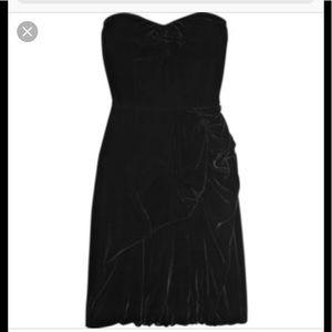 Marc Jacobs Velvet black cocktail dress